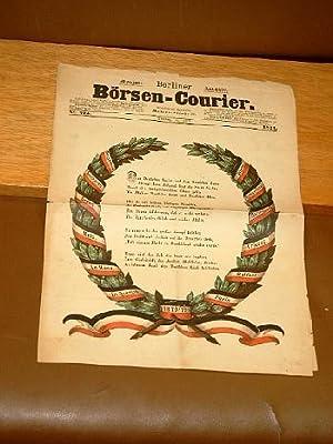 Berliner Börsen-Courier, Nummer 275 vom 16. Juni 1871 zum Triumphzug der Deutschen Heere in Berlin ...