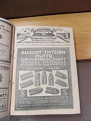 Zentralblatt für Waggonbau-, Schiffbau-, Transportmittel-Industrie. Verbreitet in Mitteleuropa. 9. ...
