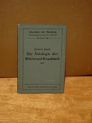 Die Ätiologie der Milzbrand-Krankheit, begründet auf die Entwicklungsgeschichte des Bacillus ...