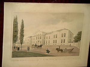 Krankenhaus der deutsch-israelitischen Gemeinde, oder das Betty Heinesche Stift, in der Vorstadt ...