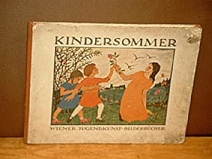 Kindersommer.Bilder und Verse von Ilse Breit. ( = Wiener Jugendkunst-Bilderbücher Nr. 3 ): Breit, ...
