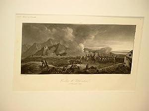 Combat de Diernstein 11. Novembre 1805. Stahlstich von Peronnard nach Beaume. ( Aus: Galerie ...