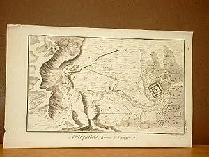 Ruines de Palmyre. ( Kupferstich von Benard aus der Enzyklopädie von Denis Diderot und D'...