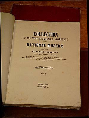 Collection of the most remarkable monuments of the National Museum. ( Volumen I - II von 4 )