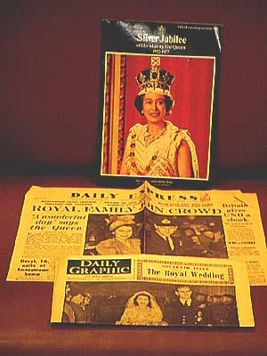 "Daily Graphic and Daily Sketch "" Souvenir Issue: The Royal Wedding "", Friday, November 21, ..."