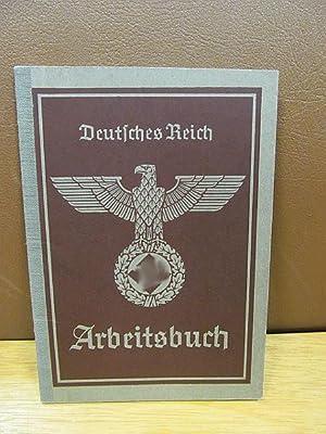 Deutsches Reich: Arbeitsbuch Nr.88Be / 2981.