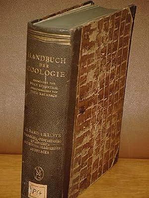 Handbuch der Zoologie: Band 3, 1. Hälfte: Kükenthal, Willy; Krumbach,