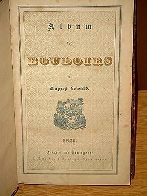 Album der Boudoirs. ( Band 1 ): Lewald, August