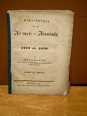 Bemerkungen über die Armen-Anstalt von 1791 und 1830 -(1832)-: Abendroth