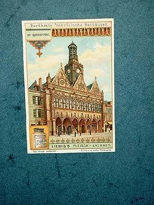 Liebig-Bilder: Einzelserie Nr. 835: Berühmte französische Rathäuser.