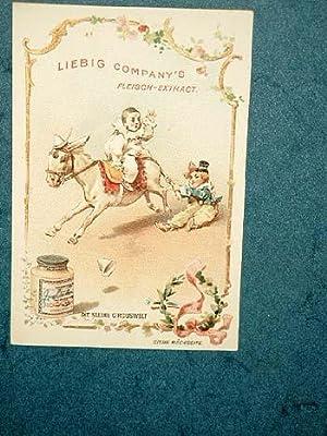 Liebig-Bilder: Einzelserie Nr. 300: Die kleine Circuswelt.