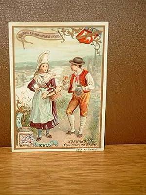 Liebig-Bilder-Serie: ( Véritable Extrait de Viande Liebig ): Sanguinetti-Nummer 282: Provinces de ...