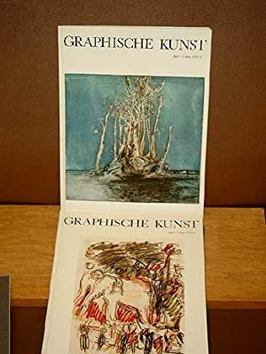 Graphische Kunst: Konvolut von 14 Heften mit Originalgraphik von Heft 1 (1973/74) bis hin zu Heft ...