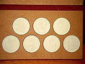 Köpfe der Küste: 7 Medaillen: Ulrich von: Jastram, Jo (