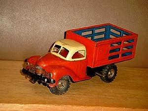 Gama - Lastwagen Nr. 250/1 Kipper mit Aufziehwerk, 50er Jahre.