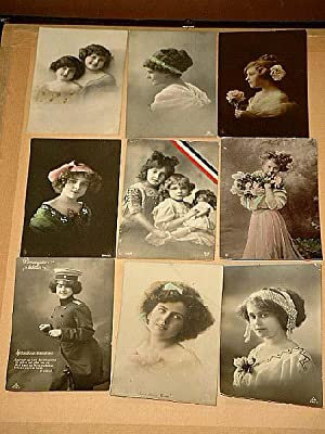 Schönheiten: Konvolut von 26 meist schwarz-weißen Postkarten im Hochformat (1 Karte im Querformat),...