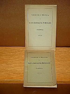 Jahresbericht und Abrechnung des Vereins Hamburgirscher Musikfreunde in Hamburg: 1923/1924 + 1924/...