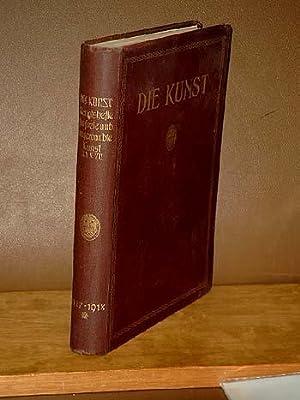 Die Kunst. Monatshefte für freie und angewandte Kunst. Siebenunddreissigster Band: Freie Kunst der ...