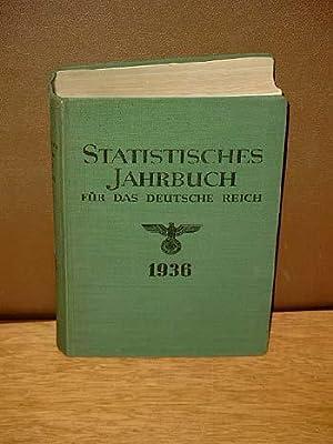 Statistisches Jahrbuch für das Deutsche Reich. Herausgegeben vom Statistischen Reichsamt. 55. ...