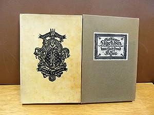 Sieben Legenden. Mit 7 Holzschnitten von Hans Halm.: Keller, Gottfried