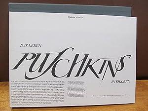 Das Leben Puschkins in Bildern. Gezeichnet von Wilhelm M. Busch. Mit einem Essay von Nino Erné. ( ...