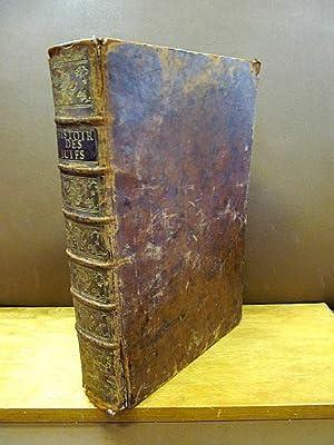 Histoire des Juifs, écrite par Flavius Joseph,: Flavius, Josephus; Flavius,