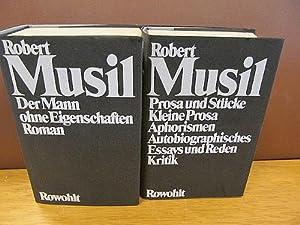 Gesammelte Werke Band I (Der Mann ohne: Musil, Robert
