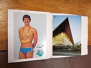 Künstler-Autogrammalbum mit ca. 50 Eintragungen der 1960er und 1970er Jahre, meist auf ...