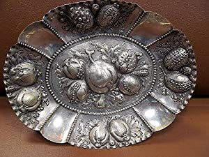 Silberschale in 800er Silber. Gewicht ca. 200 Gramm ( Silver bowl ).