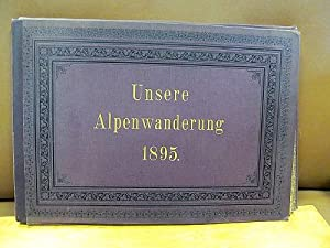 Foto-Mappe mit 30 Albumin-Abzügen mit Motiven aus dem Alpenraum / Salzkammergut.: Unsere ...