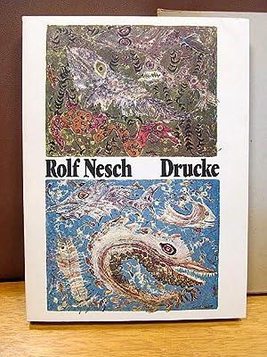 Drucke. Eingeleitet von Alfred Hentzen und Wolf Stubbe.: Nesch, Rolf