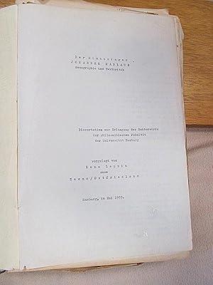 Der Minnesinger Johannes Hadlaub. Monographie und Textkritik. Dissertation zur Erlangung der ...