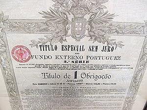Fundo Externo Portuguez - Titulo Especial sem Juro.