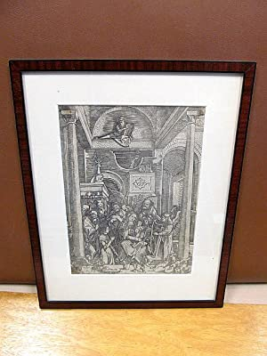 Maria mit dem Jesuskind im Kreise einiger: Dürer, Albrecht (