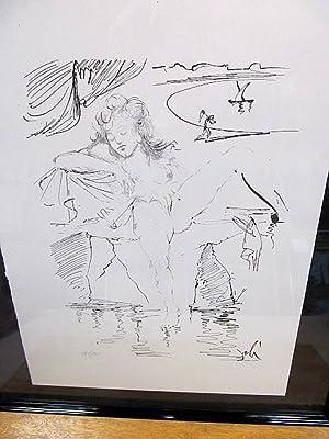 La Relavacion. Litografia ( Lithographie ). Nummeriert.: Dali, Salvador (