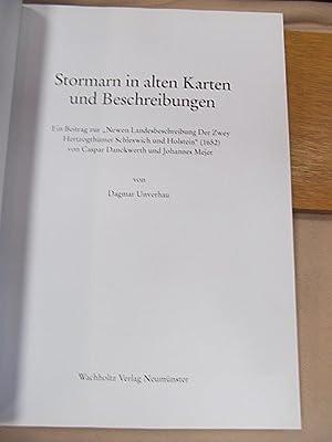 """Stormarn in alten Karten und Beschreibungen: Ein Beitrag zur """"Newen Landesbeschreibung der zwey..."""
