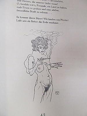 Eros. Monatshefte für Erotische Kunst. Gedruckt für Subskribenten. II. Heft, Oktober 1919.: Karpfen...