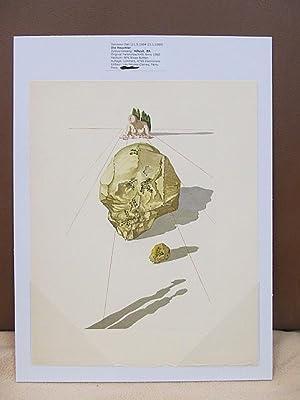 Original Farbholzschnitt bzw. Xylographie: *Die Heuchler  : Dali, Salvador (