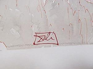 Original Farbholzschnitt bzw. Xylographie: *Die Wucherer*. Aus Dante *Göttliche Komödie, Blatt 17 *...
