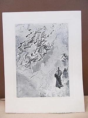 Original Kupferstich   copper etching: *Der Jupiter-Himmel*.: Dali, Salvador (