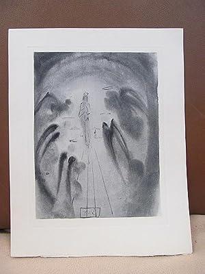 Original Kupferstich   copper etching: *Die Freude: Dali, Salvador (