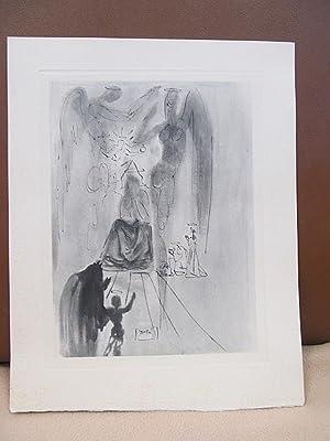 Original Kupferstich   copper etching: *Der Triumph: Dali, Salvador (