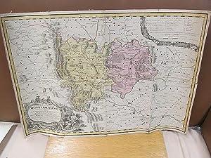Principatus Silesiae Munsterbergensis exactissima Tabula Geographica exhibens: Schuberth, M.; Wieland,