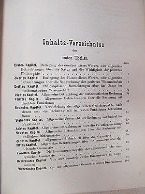 Die positive Philosophie von Auguste Comte im Auszuge von Jules Rig, Übersetzt von J. H. v. ...