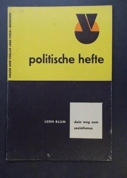 Dein Weg zum Sozialismus: Blum, Leon