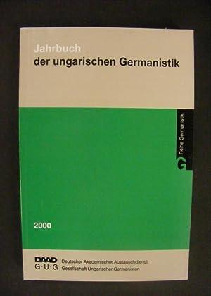 Jahrbuch der ungarischen Germanistik 2000: Agel, Vilmos /