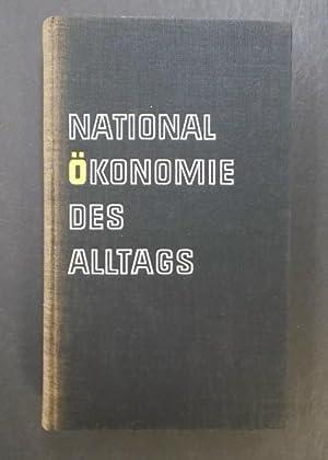 Nationalökonomie des Alltag: Heinig, Kurt