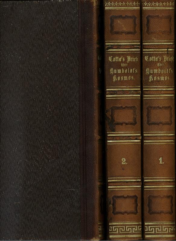 Briefe Alexander Von Humboldt : Briefe ueber alexander von cotta zvab