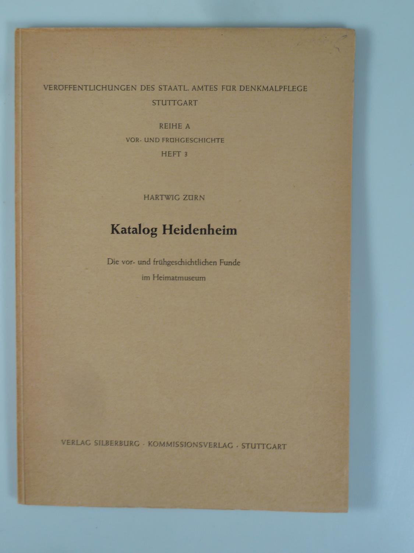 Katalog Heidenheim.: ZÜRN, Hartwig.