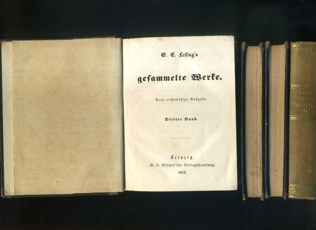 Lessing Werke Und Briefe In 12 Bänden : Lessings gesammelte werke in bänden teile band